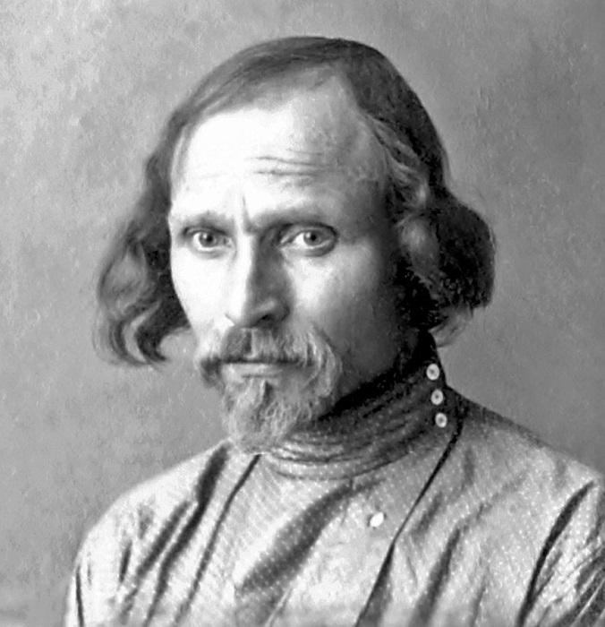 Скульптор Степан Эрьзя.