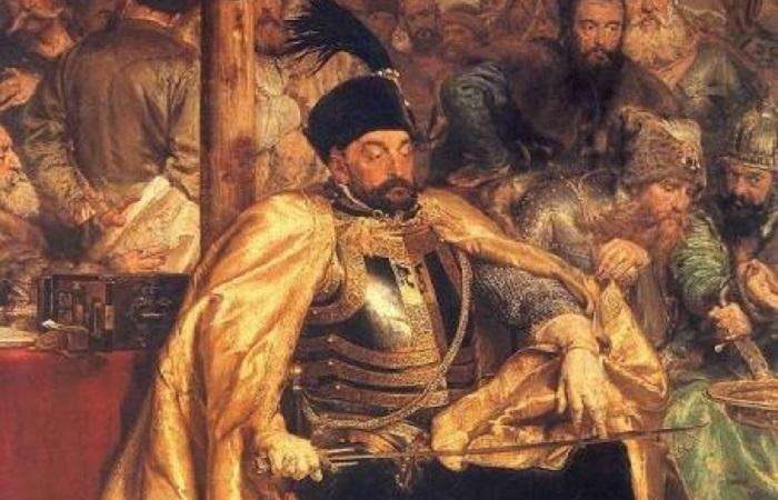 Казацкий король Степан, польский король Баторий: самый странный из противников Ивана Грозного. Фрагмент картины Яна Матейко.