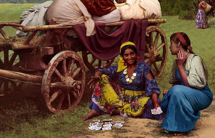 Как цыгане отметились в мировой культуре. Картина: Николай Бессонов.