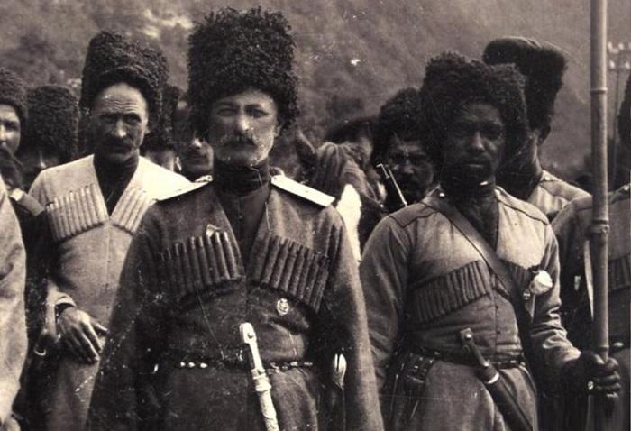 Абхазы времён Российской Империи.