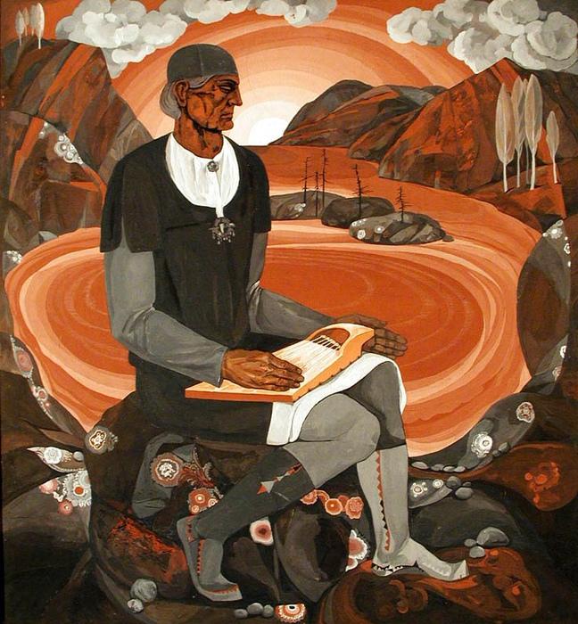 Иллюстрация к «Калевале».