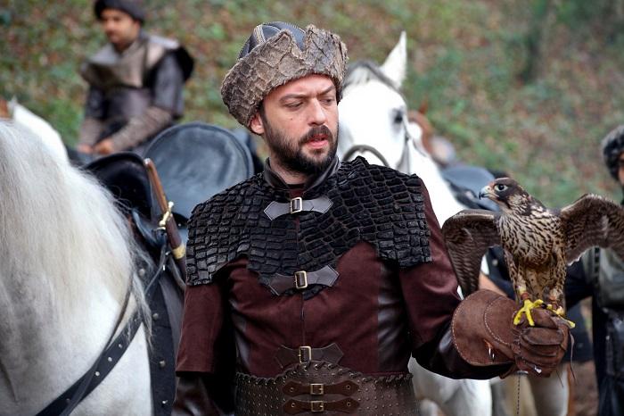 Кадр из сериала «Великолепный век». Визирь Ибрагим-паша.