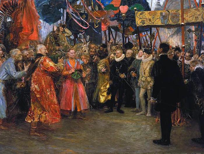 Картина Теодора Аксентовича.