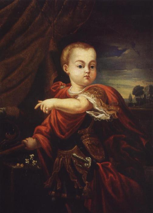 Портрет маленького императора Иоанна.