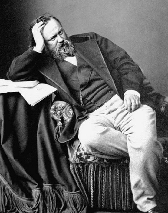 Александр Герцен в Лондоне много думал о судьбах российского народа.