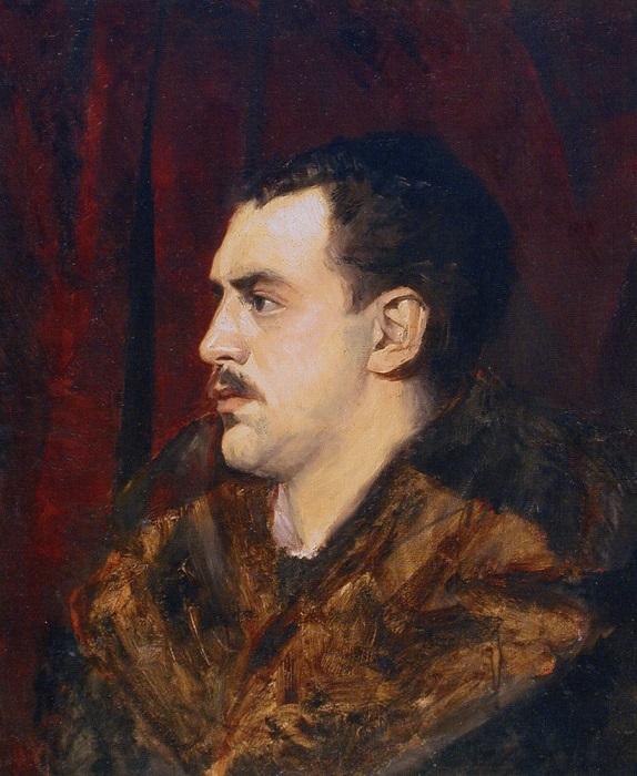Портрет брата кисти Марии Башкирцевой.