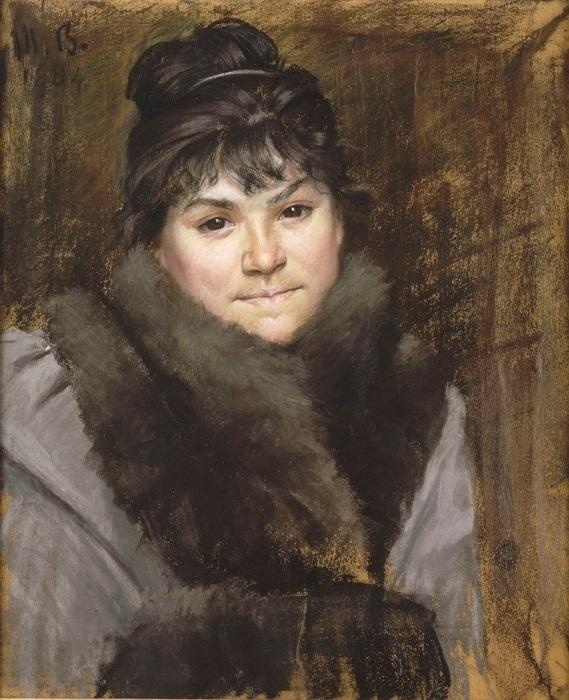 Портрет одной из родственниц от Марии Башкирцевой.
