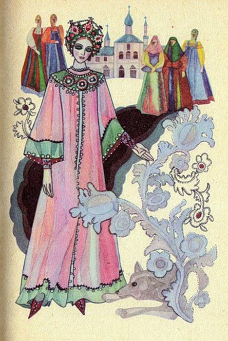 Кроме иллюстраций и картин, Юфа известна как автор сценических балетных и театральных костюмов к различным постановкам.