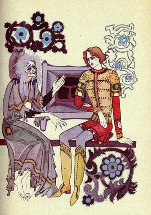 Есть теория, что иллюстрации Юфа повлияли на становление стиля маленькой украинской художницы Саши Путря.