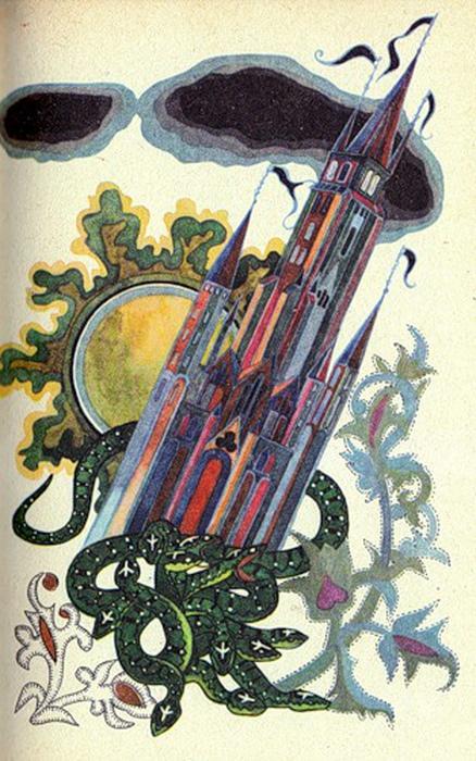 Юфа иллюстрировала и русских авторов, например, Жуковского.