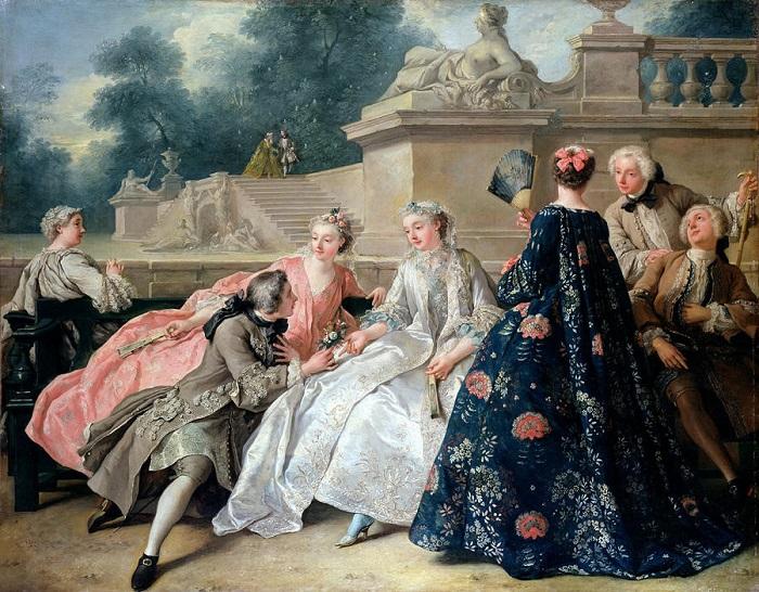 Картина Жана Франсуа де Труа.