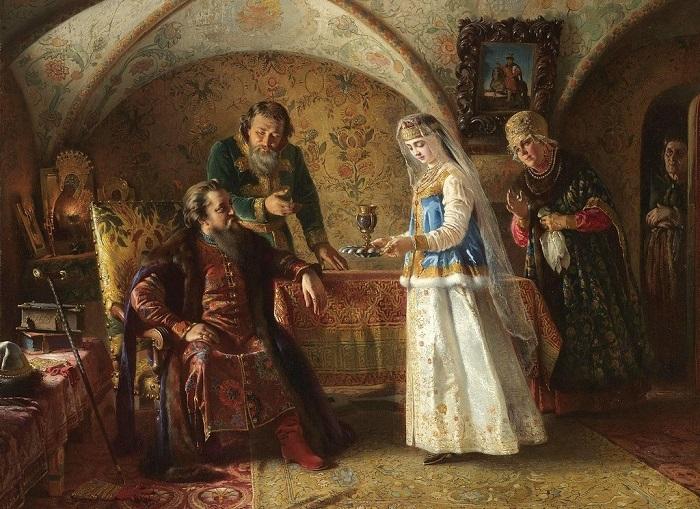 Картина Константина Маковского.