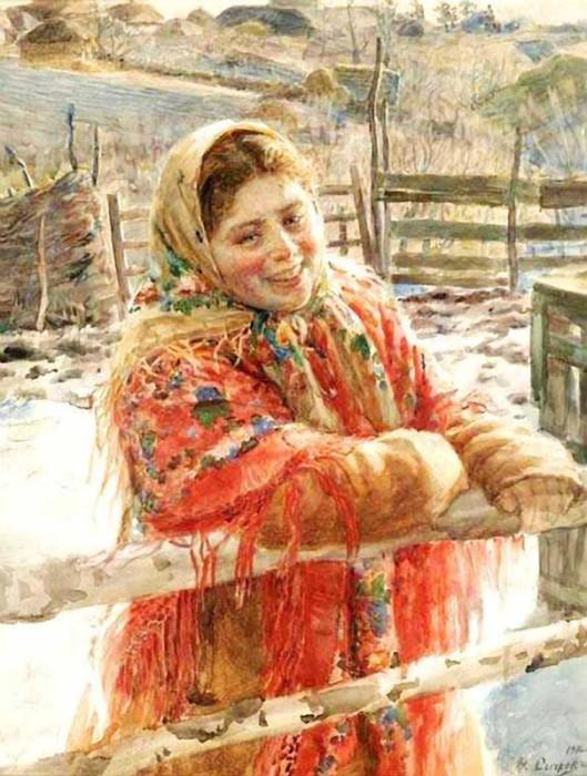 Ещё одна красавица от Федота Сычкова