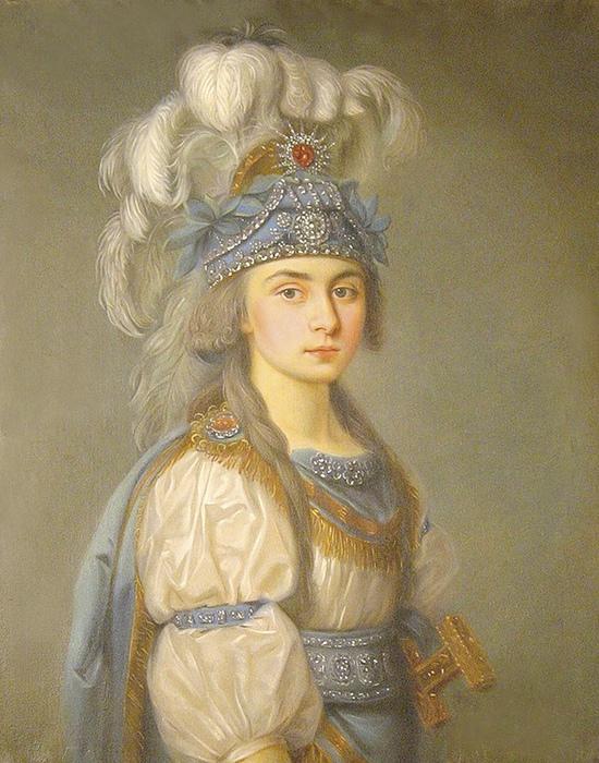 Прасковья Жемчугова в образе.