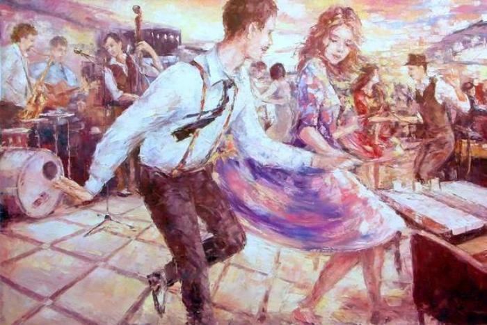 Картина Евгения Баранова.