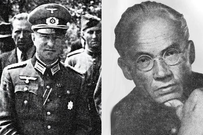 Аргентинцы Борис Смысловский (слева) и Иван Солоневич (справа) были монархистами и яро ненавидели СССР.