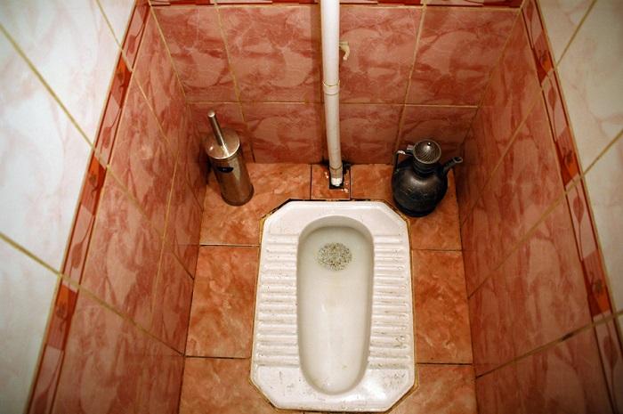 Современный узбекский туалет. Источник: tchabovsky.livejournal.com
