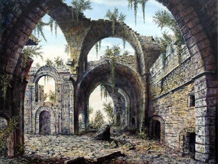 Картина Ж.Брунжеса.