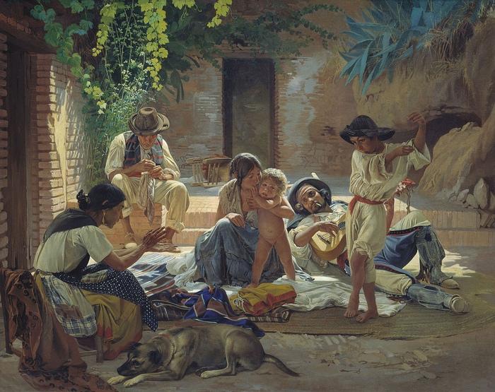 Цыганский язык относится к новоиндийским. Это почему-то подталкивало многих к мысли, что и верования у цыган индуистские.