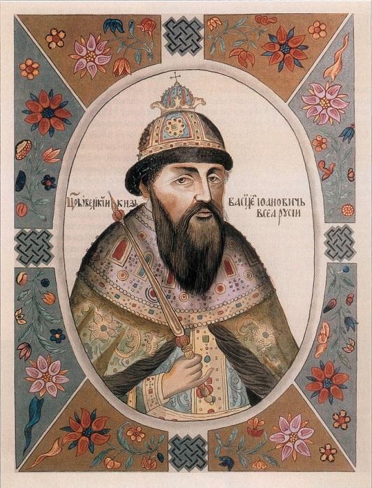 Василий III, отец Ивана Грозного.
