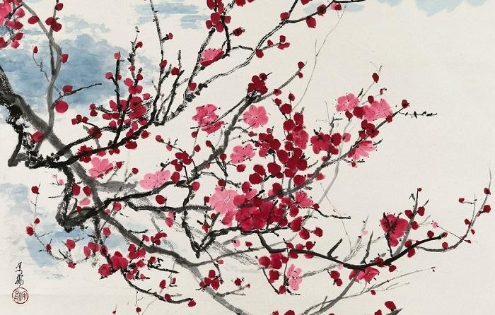 Стихотворение, откуда взято слово «Рэйва», воспевает цветение слив.