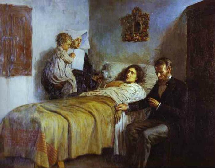 Картина Пабло Пикассо «Милосердие и наука».