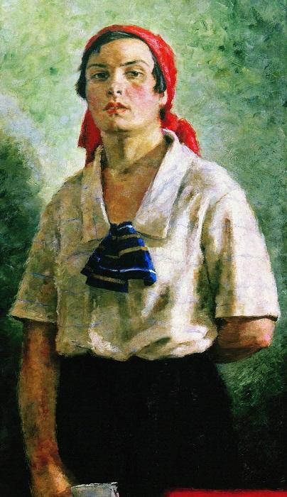 Картина Георгия Ряжского.