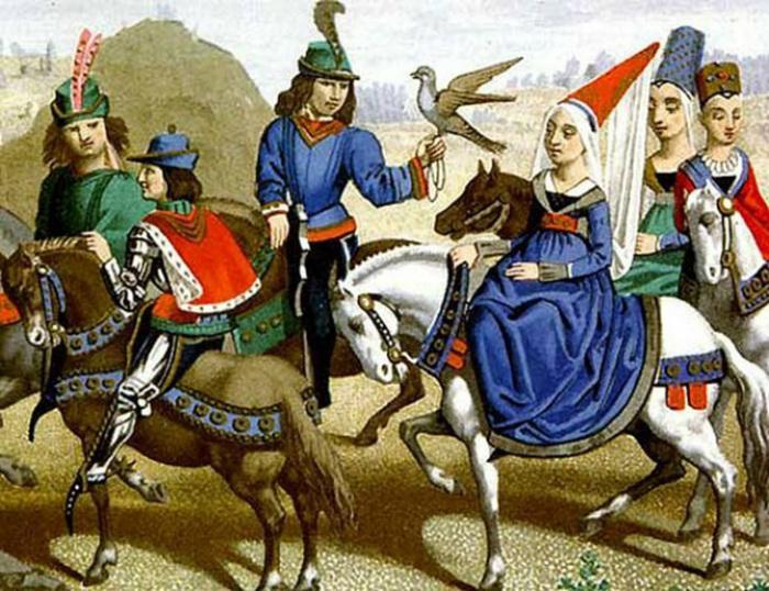 В Средние Века охота была любимым развлечением дворянства.