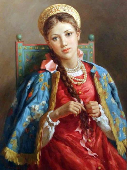 Красавица от Владислава Нагорнова