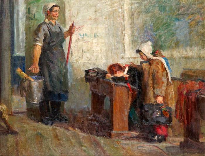 Картина Михаила Пушного.