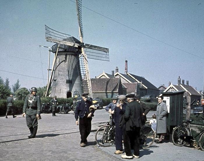 Оккупация Нидерландов.