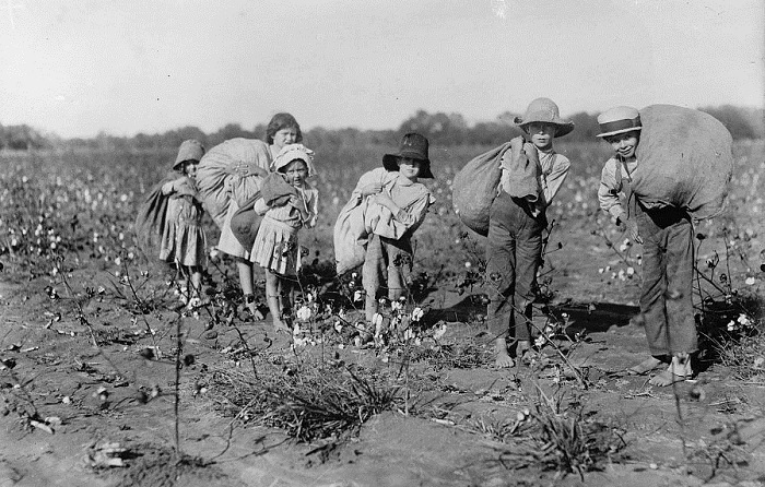 Льюис Хайн снимал только белых детей, но у чернокожих было всё то же самое.