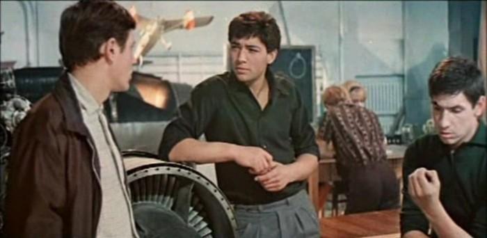 Молодой Цурило в фильме «Королевская регата».