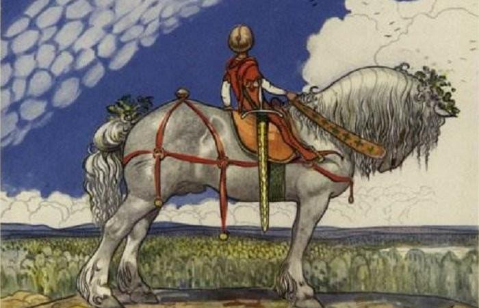 Тролли, принцессы, подкинутые дети: такие шведские и такие сказочные рисунки Йона Бауэра.