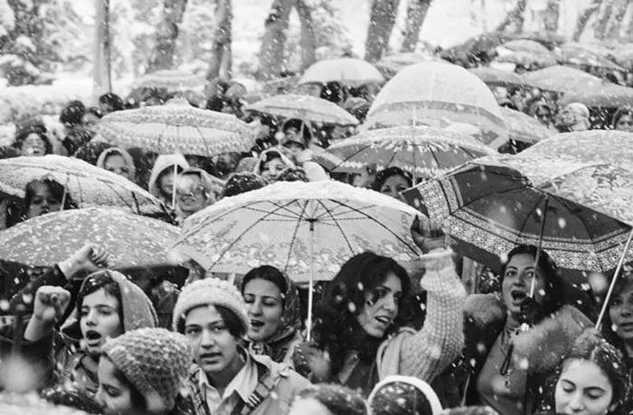 Протест в Иране 1979 года.