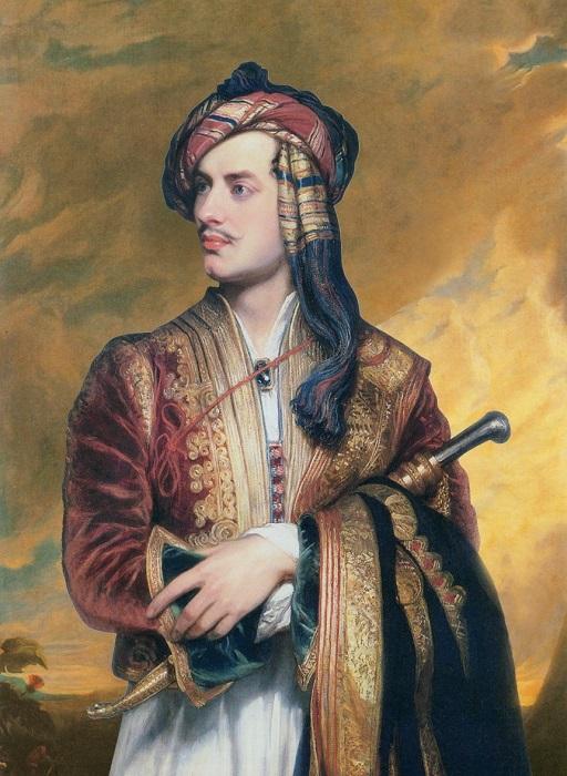 Самый знаменитый портрет Байрона.