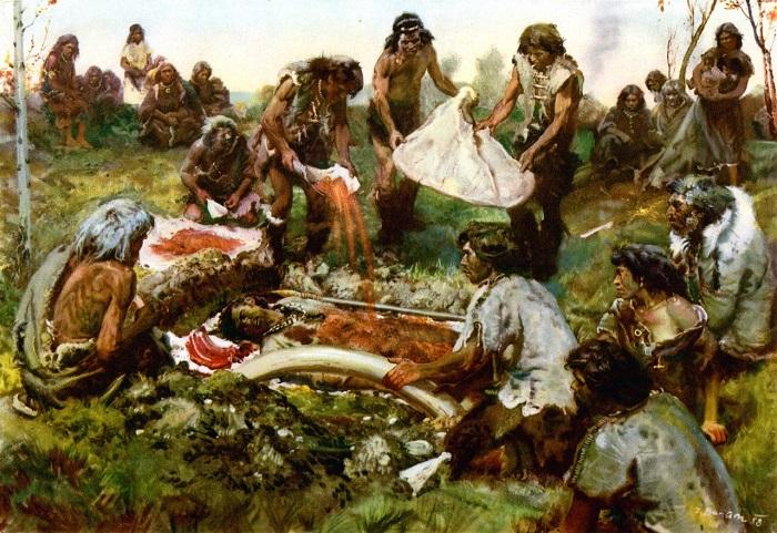 Похороны в каменном веке.