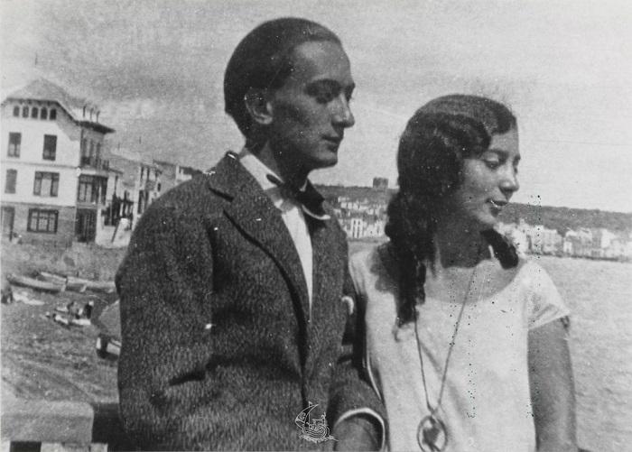 Сальвадор и Анна Мария Дали.