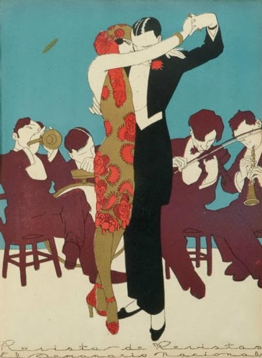 Танго от художника Эрнесто Гарсиа Кабраля.