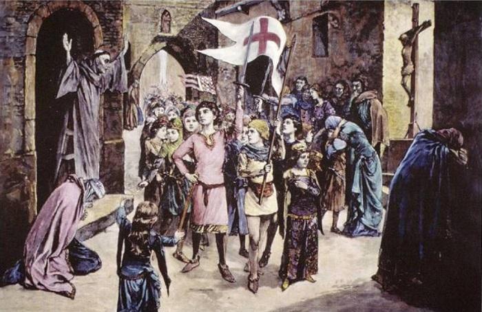 30 000 подростков и детей собрались отвоёвывать Иерусалим, и взрослые снабжали их едой, а не останавливали.