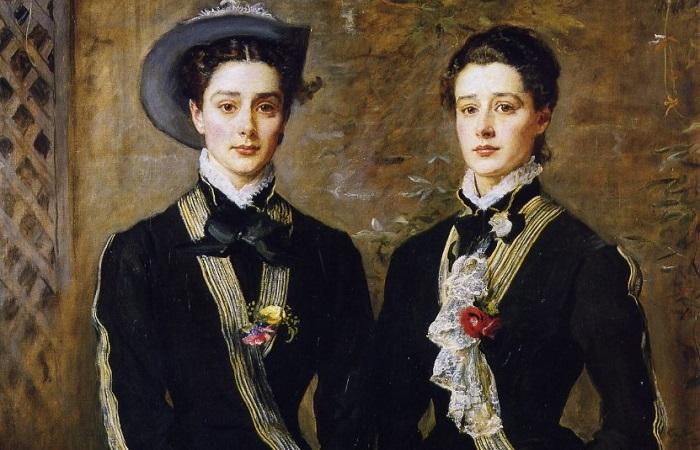 Фрагмент картины Джона Эверетта Милейса.