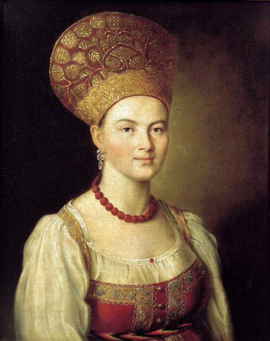 Портрет красавицы-крестьянки от Ивана Аргунова
