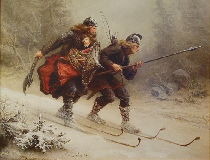 Картина Кнуда Бергслина.