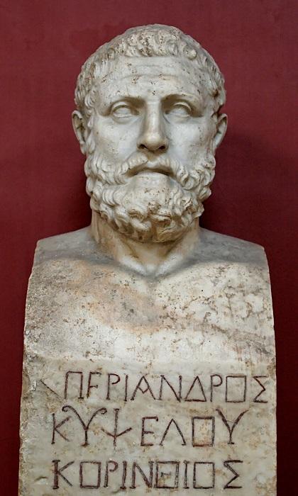 Скульптурный портрет Периандра с Коринфа.
