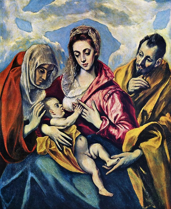 Стиль Эль Греко смотрелся бы актуально и в двадцатом веке.