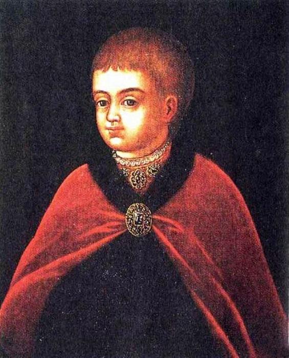 Пётр I в детстве.