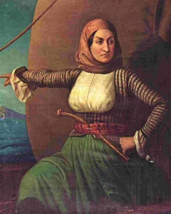 Ласкарина Бубулина, женщина и адмирал.