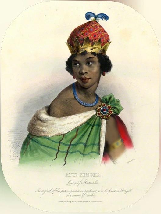 Портрет королевы Анны, нарисованный в XIX веке.