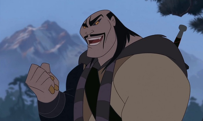 Возможно, Хуханье был похож на шаньюя из мультфильма *Мулан*.