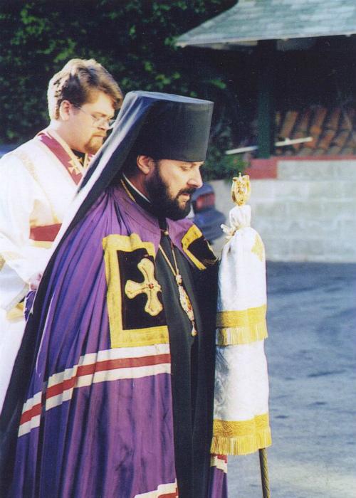 Покойный епископ Буэнос-Айреса Александр, богослов, писатель.